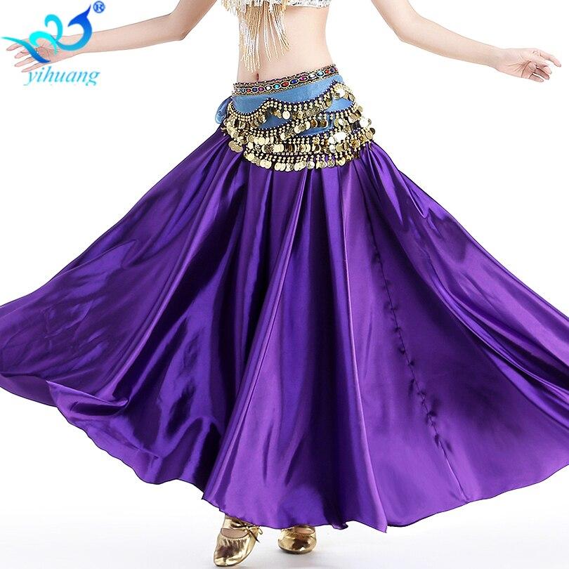 Señoras al por mayor traje de la danza del vientre falda del baile ...