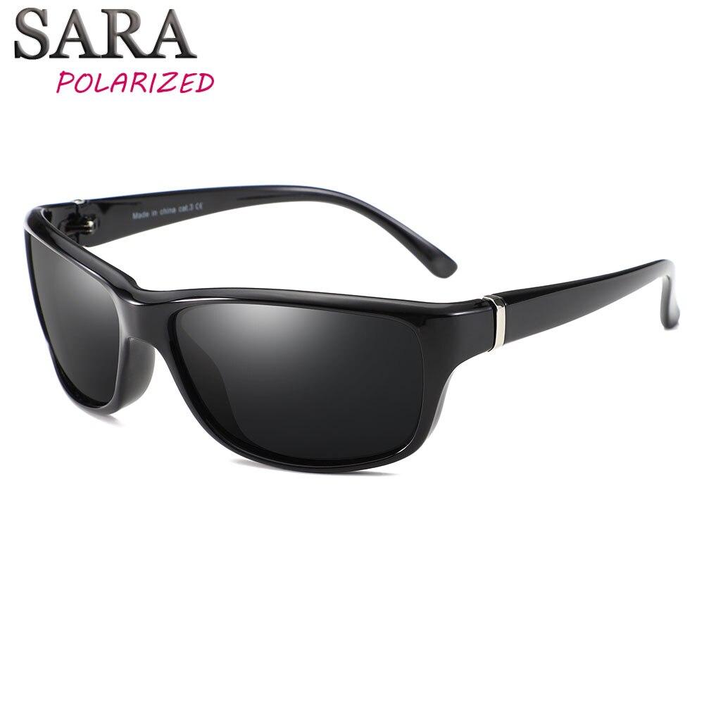 SARA Marca Projeto HD Polarizada Óculos De Sol Dos Homens de Condução  Shades Oculos Masculino Quadrado d563379987