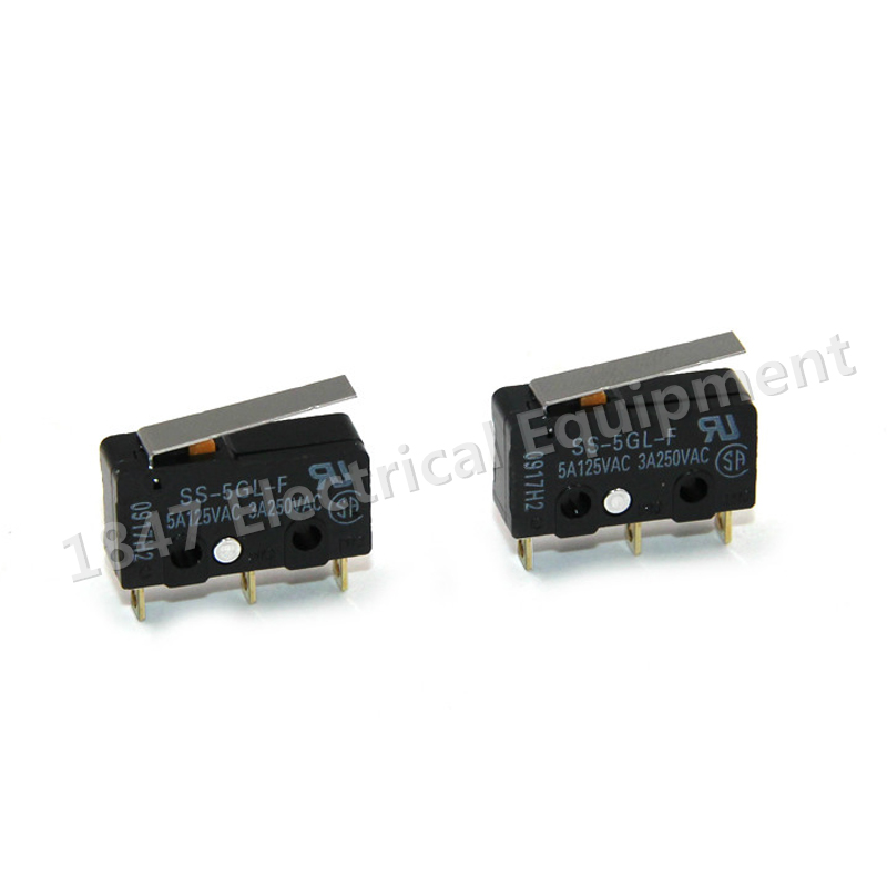 2PCS SS-5GL Com-NC-NO End Stop Switch Omron Mini Limit Switch For 3D Printer