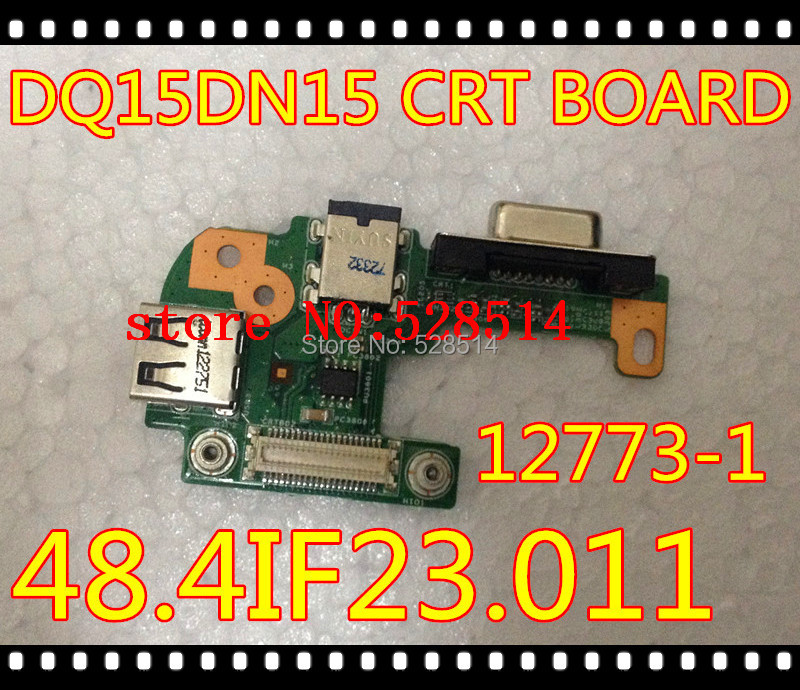 DC POWER CRT VGA JACK USB BOARD For Dell Inspiron Laptop N5110 48.4IF05.011 48.4IF21.011 100% work test fully