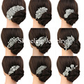 Wholesale Factory directly art deco vintage wedding hair comb bridal hair comb pearls wedding hair accessories headpiece