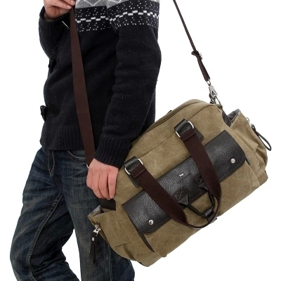 Best Selling 2015 Cheap men messenger bags canvas shoulder bag men ...