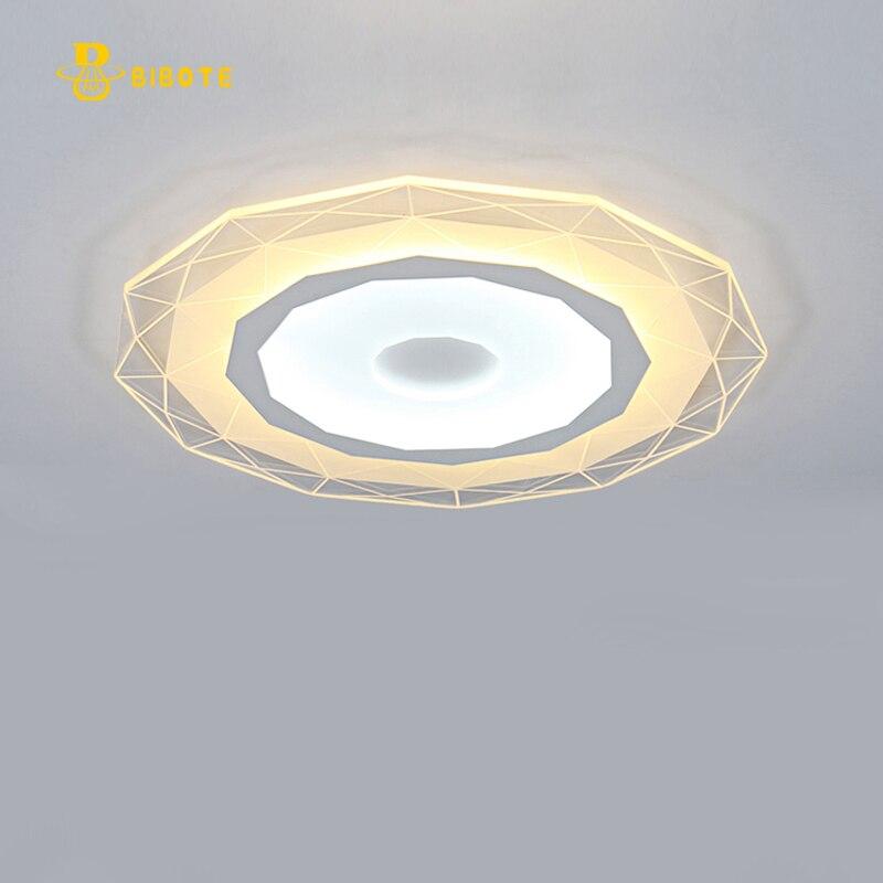 Super-thin diamond Ceiling chandelier lights indoor lighting led luminaria abajur modern led ceiling chandelier  free shipping soccer-specific stadium