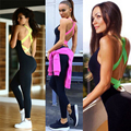 Female Sexy Jumpsuits Sports Pants Gym Clothes Spandex Running Tights Women Sports Yoga Sets Leggings For Fitness Clothes x31g4