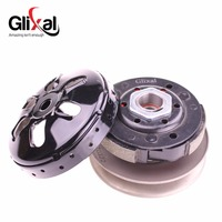 Glixal High Performance Racing Clutch Assy with Clutch Bell for GY6 49cc 50cc 139QMA 139QMB Engine Scooter Moped ATV Go Kart