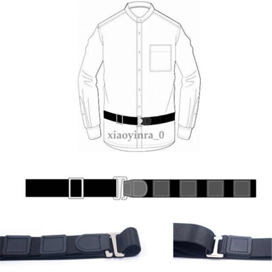 5 стилей держатель рубашки Регулируемый рядом рубашка оставайтесь лучший подтяните его ремень для женщин мужчин работы интервью