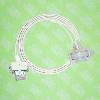 Compatible with GE Critikon Dinamap Puls 8700,8710,8720,Oxyshuttele 1 /2 monitor, Neonate silicone wrap spo2 sensor,1M,6PIN.