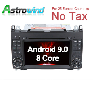 8 Core,4G RAM,32G ROM Android 9.0 Car DVD Player GPS Navigation for Mercedes-Benz A Class W169 for Mercedes B Class W245 Viano