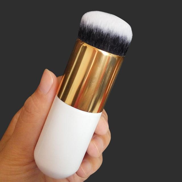 10PCS 11PCS Makeup Brushes Rose Gold Diamond Purple Brush Loose Powder Brush Flat Kit Pincel Maquiagem Make up Brushes 4