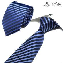 New Design 100% Silk Men Tie 8 cm wide Striped Classic Business Neck For Suit Wedding Party Necktie Factory Sale