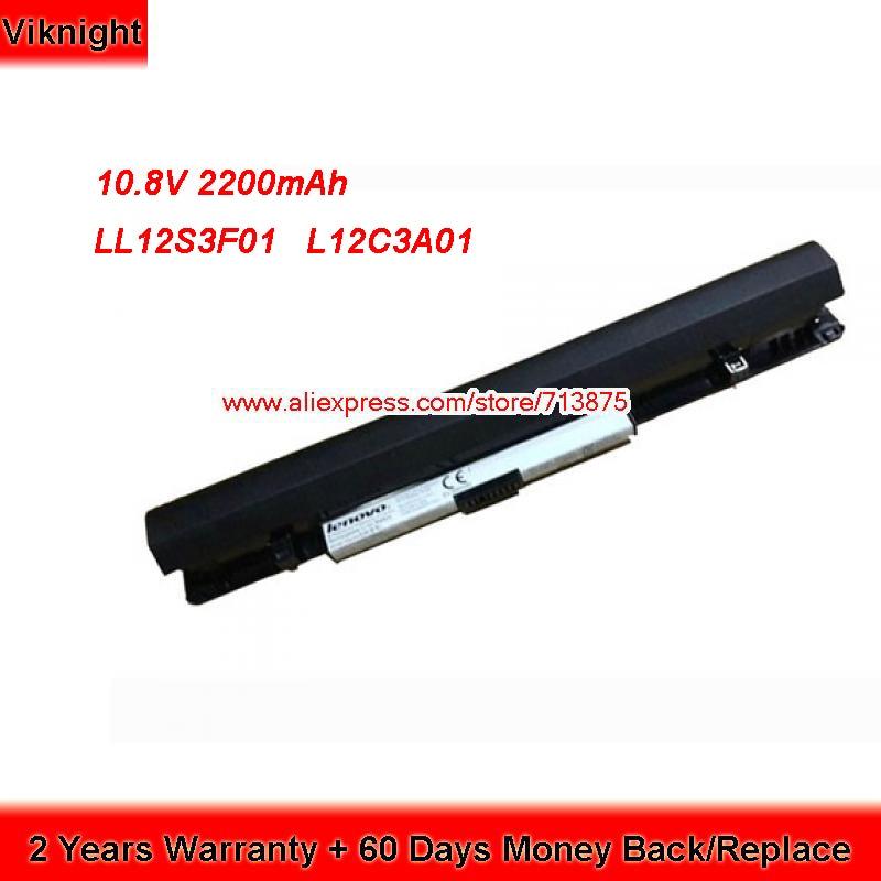 Genuine LL12S3F01 L12C3A01 Laptop Battery for Lenovo IdeaPad S210 S215 Touch S20-30 L12M3A01 genuine laptop battery for lenovo sb10j78998 01av401