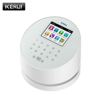 KERUI W2  Wifi GSM Wireless alarm Panel IOS andorid APP PSTN line telephone RFID Disalarm Security Alarm 3