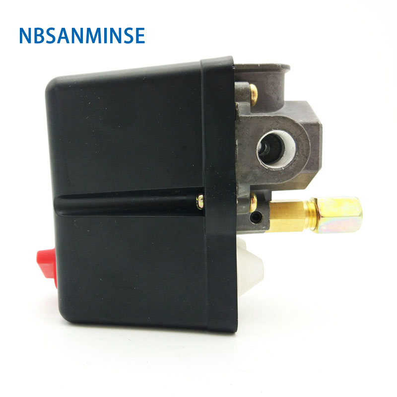 Nbsanminse Smf 19 Pressure Switch 1/4 G Npt T Reliable Control Switch High Quality For Air Compressor Pump