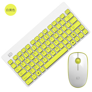 Image 5 - 2.4G Wireless Keyboard and Mouse Mini Multimedia Keyboard Mouse Combo Set For Notebook Laptop Mac Desktop PC TV Office Supplies