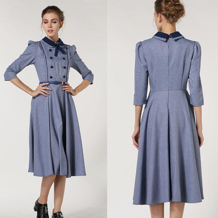 Images of Vintage Long Dresses - Reikian