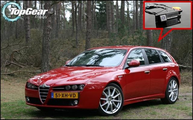 Câmera do carro Para A Alfa Romeo AR 159 AR159 Traseiro de Alta Qualidade View Camera Back Up Para Top Gear Amigos | CCD com RCA