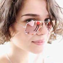 Luxury Vintage Polarized Sunglasses Women Men Brand Designer Mirror Sun Glasses For Women Ladies Female Sunglass oculos de sol