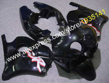 For Honda CBR 250R 1990-1994 MC22 CBR 250RR 90 91 92 93 94 Black Aftermarket Motorbike Fairing Kit (Injection molding)