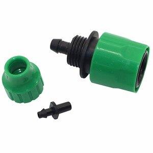 Image 3 - Адаптер для быстрого соединения, 2 шт., лента для капельного орошения, коннектор для шланга с колючим соединителем 1/4 дюйма, садовые инструменты для полива