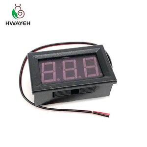 """Image 3 - AC 70 500 v 0.56 """"LED דיגיטלי מד מתח מתח מד וולט מכשיר כלי 2 חוטים אדום ירוק כחול תצוגת 110 v 220 v DIY 0.56 inch"""