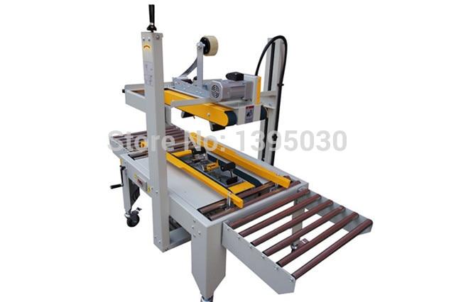 1PC FXJ 6050 220V 180W Large Semi Auto Box Case Carton Tape Sealer Machine Sealing With English Manual