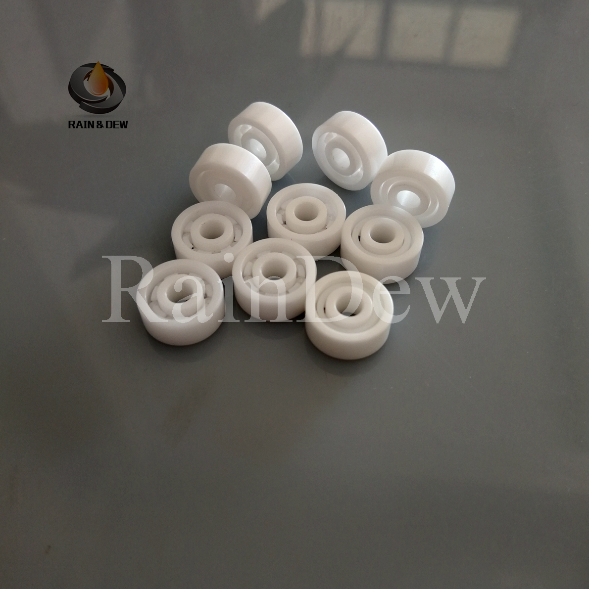 10pcs lot 623 ZrO2 full Ceramic bearing 3x10x4mm Zirconia ZrO2 Ceramic ball bearings