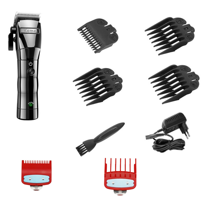 Image 2 - cord/cordless hair clipper professional electric hair trimmer barber adjustable hair cutting machine men hair cutter home salon-in Hair Clippers from Home Appliances