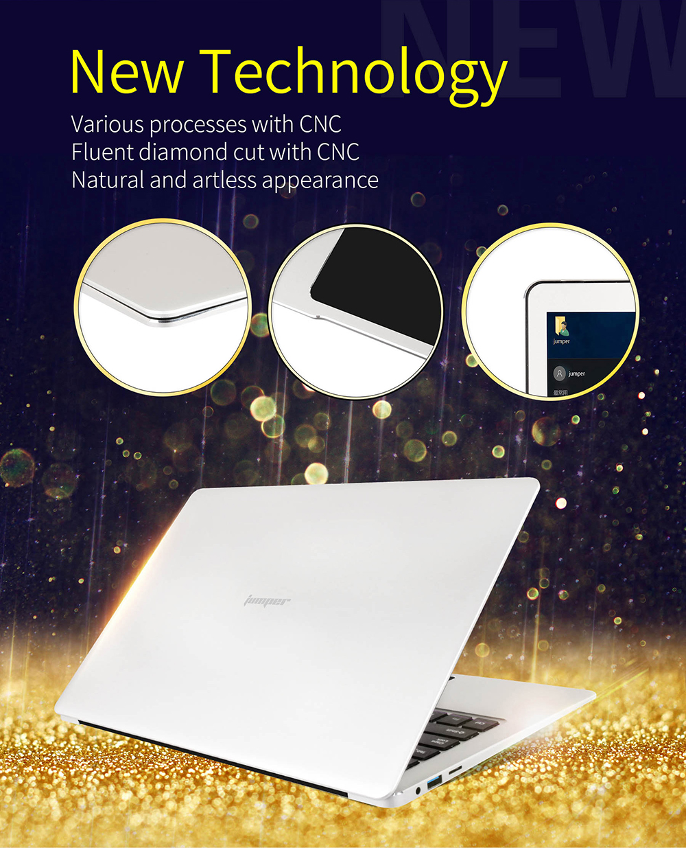 2  Jumper EZbook three Professional laptops 13.three Inch tablets Intel Apollo N3450 Quad Core 6GB DDR3 64GB eMMC Home windows 10 pocket book computador HTB1SLJ7RXXXXXc2XXXXq6xXFXXX7