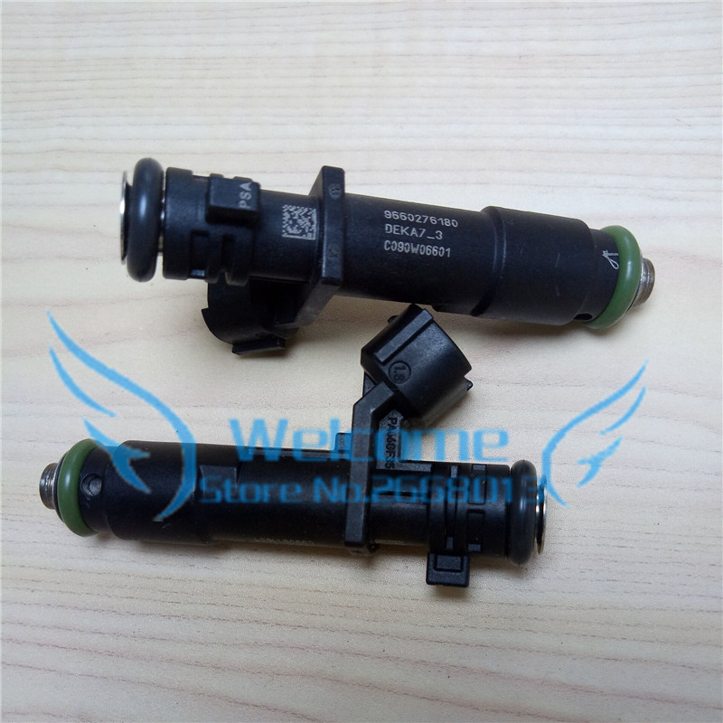 Image 1 - 4pcs/lot Original Fuel Injector / 8 Holes Injection Nozzle for Peugeot 307 308 408 508 Citron C Triomphe C5 C Quatre 9660276180-in Fuel Injector from Automobiles & Motorcycles