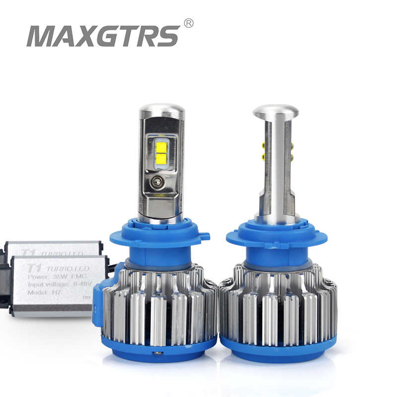 2x H1 H3 H4 H7 H8 H11 9005 HB3 9006 HB4 H13 9004 880 881 9012 Car Led Headlight Light Auto Canbus 70W White Light Bulb