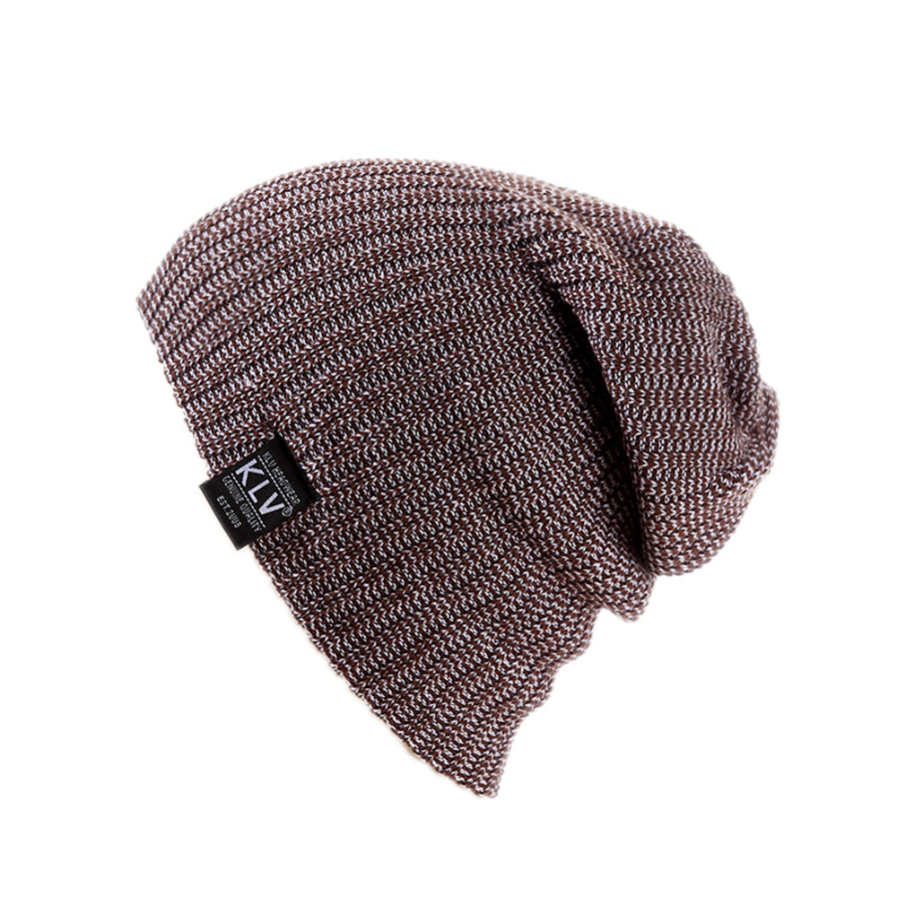 Fashion Unisex Hat Slouch Slouchy Beanie Knit Winter Skull Snowboard Solid Color Hip-hop Slouch Cap Black/coffee/light gray/navy hot winter beanie knit crochet ski hat plicate baggy oversized slouch unisex cap