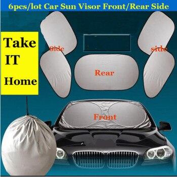 6pcs Car Front Rear Sunshades For Opel Astra H G J Corsa D C B Insignia Zafira B Vectra C B Mokka Vectra Meriva Omega Vivaro фото