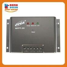 MPPT20-12/24 Juta 20A MPPT солнечной Контроллер Заряда 12 В/24 В Регулятор