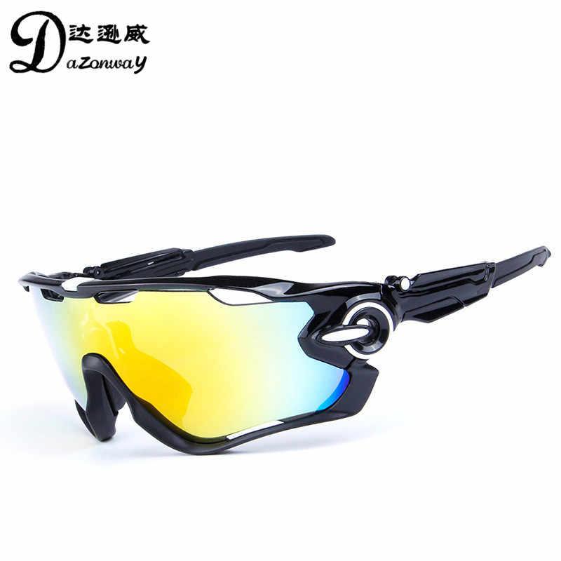 f6cb0df784 ... 5 lente hombres polarizadas ciclismo gafas de sol UV400 bicicleta de carretera  gafas de deporte MTB ...