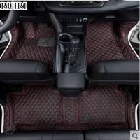 High quality! Custom special car floor mats for Volkswagen Tiguan 2016 2011 waterproof car carpets for Tiguan 2014,Free shipping