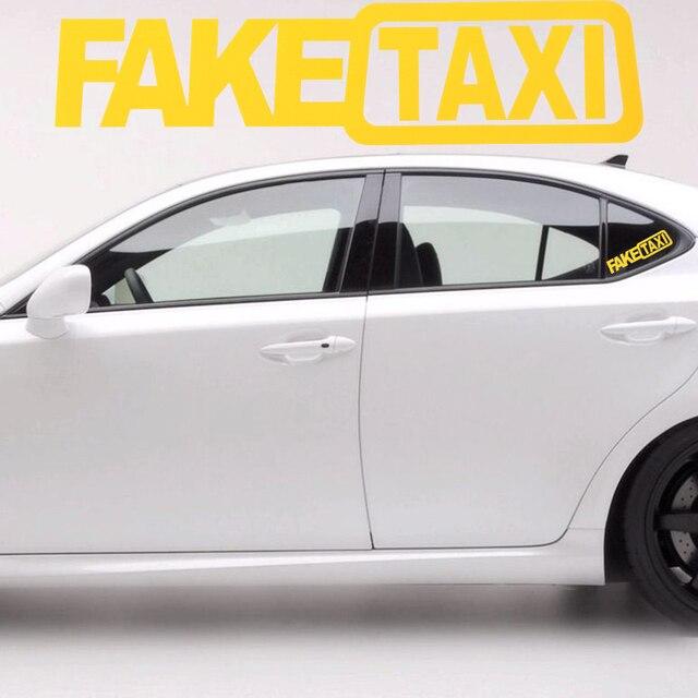 FALSO Adesivo de carro JDM Deriva Hoon Turbo Corrida de TÁXI Auto Vinil Engraçado do Texto Palavra Decalque 20x5 cm