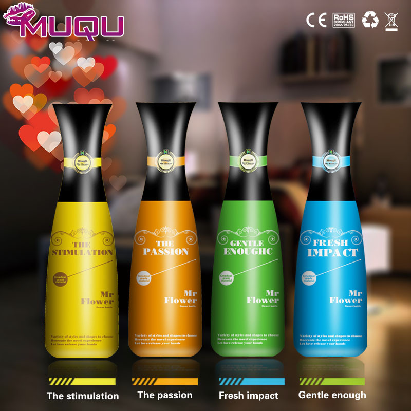 Four wine bottle Male Masturbator Sex toys for men Vagin Real Pussy Anal blow job Masturbation Cup Anus Sex Product for Man image