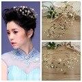 Crystal crown retro Baroque bride bride wedding dress wedding headdress headband jewelry accessories factory