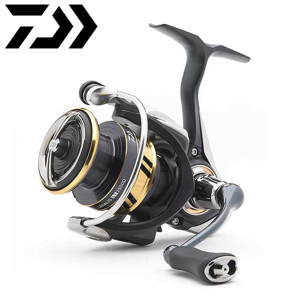 Daiwa Spinning Fishing Reel LEGALIS LT 1000D/6000D-H Light & Touch body LC-ABS Metail Spool 4KG-12KG Power Ultraleve 190g-330g