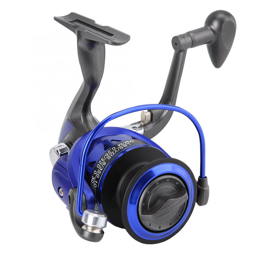5.5:1 Fishing Reel 1000-5000Series Spinning Fishing Reel with Interchanged Metal Handle Rocker Raft Sea Ocean Fishing Wheel Tool(China)