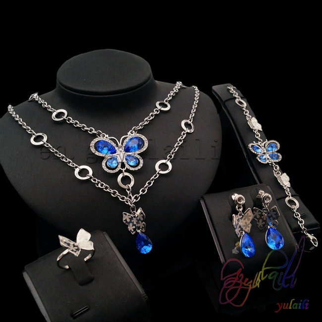 free shipping silver Dubai gold jewelry set 2016 high end costume jewelry hot sell designs seraph of the end mikaela hyakuya cosplay costume full set costume hot sale h