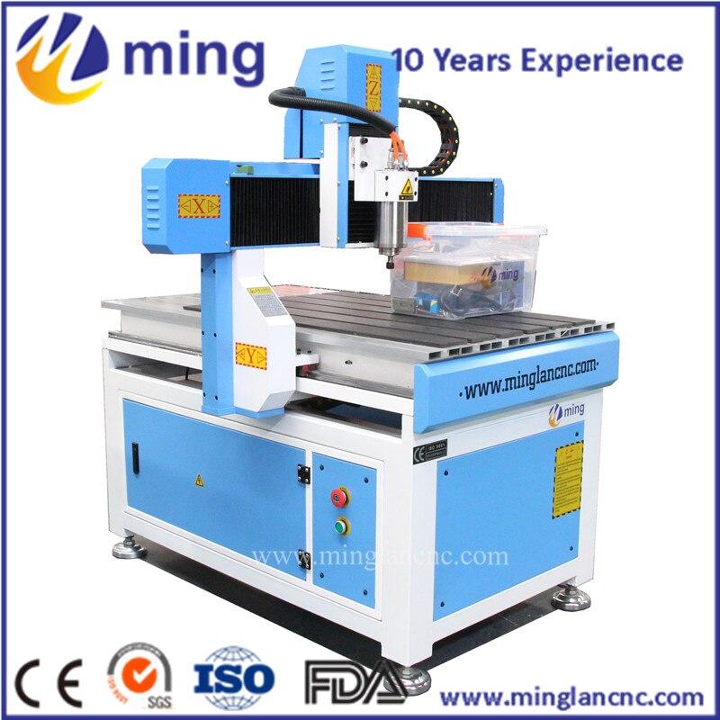 Small mini milling machine CNC router 6090 with cnc bit