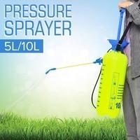 Pressure Sprayer 5/10L Garden Sprayer Compressed Air Spray Handheld Watering Spray Bottle Manual Plant Irrigation shoudler strap