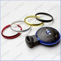 20pcs/lot Aluminum colored Key Ring For BM Mini Cooper Car Remote Key Replacements