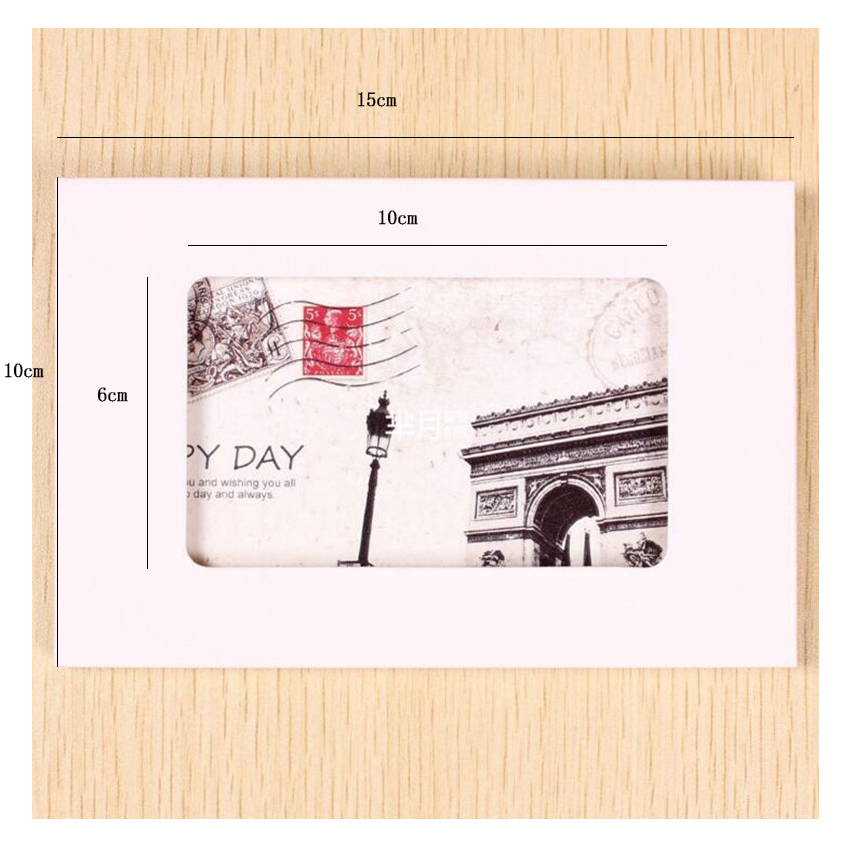 Купить с кэшбэком 50PCS/lot Vintage Hollow Design Black / White / Brown Kraft Paper Envelope Postcard Boxes Greeting Photo Post Card Package Bag