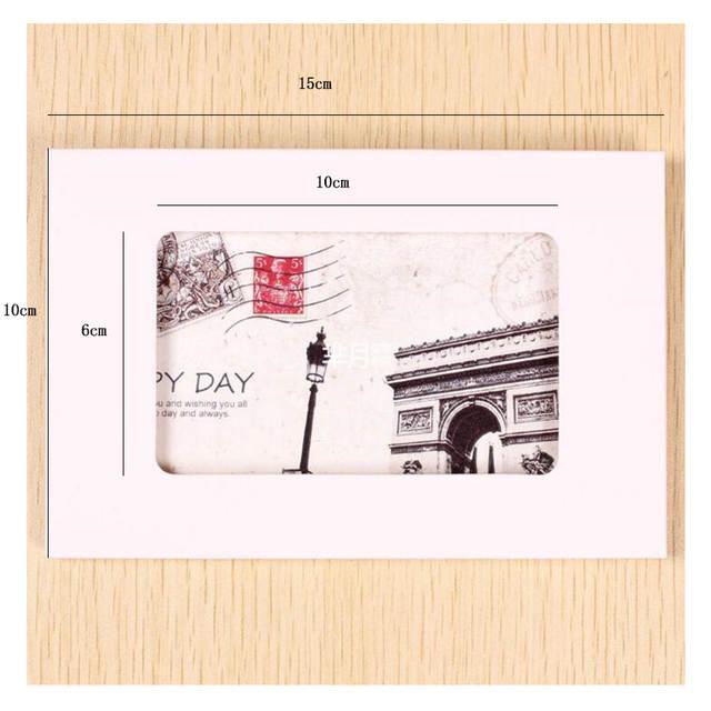 US $12 72 32% OFF|50PCS/lot Vintage Hollow Design Black / White / Brown  Kraft Paper Envelope Postcard Boxes Greeting Photo Post Card Package Bag-in