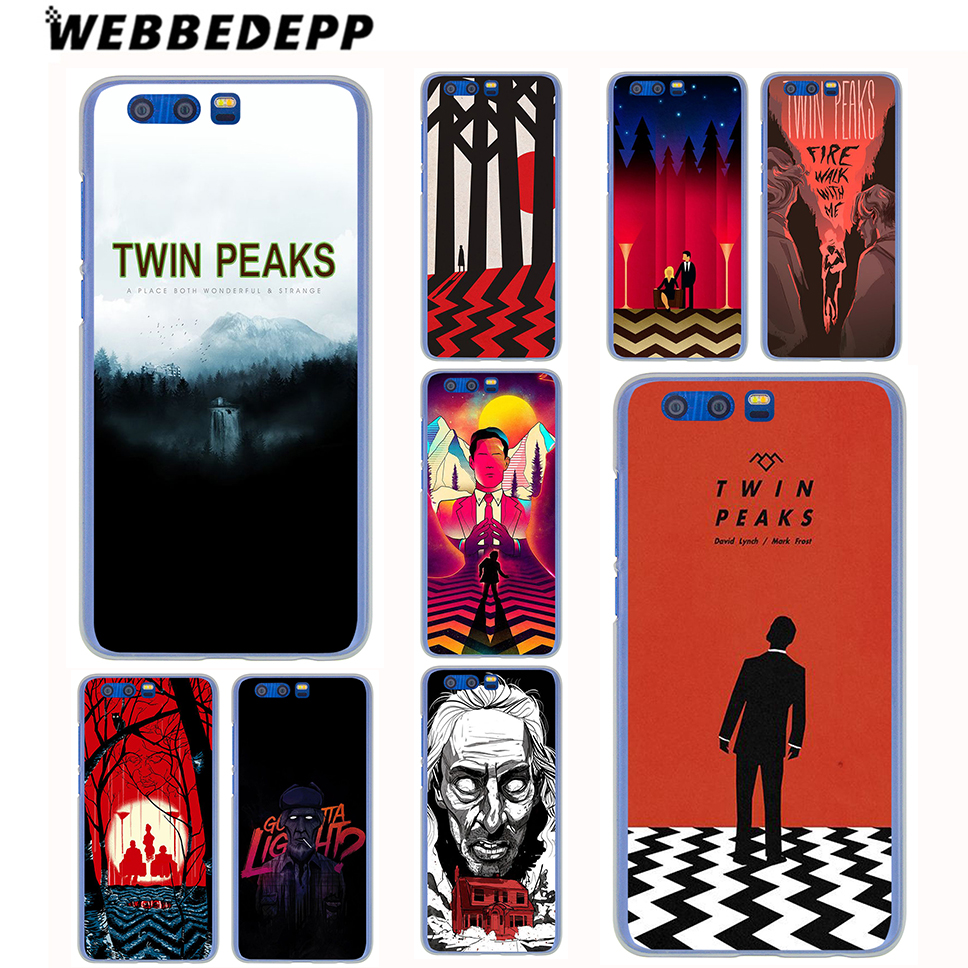 WEBBEDEPP Twin Peaks Case for Samsung Galaxy J7 J5 J3 J1 2018 2017 2016 2015 US EU Version Prime