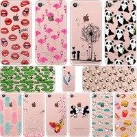 ciciber Mickey&Minnie kiss Lips pineapple unicorn Flamingo cactus soft silicone cases cover for iphone 6 6S 7 8 plus 5S SE X