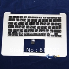 NEW FOR MACBOOK AIR A1466 Russian Top case palmrest keyboard 2012, WHOLESALE