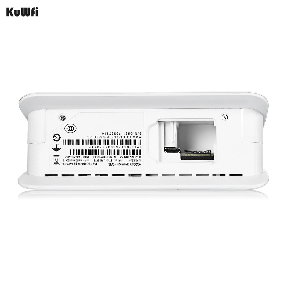 Unlocked 300Mbps Wifi Router 4G LTE CPE Wireless Mobile Router With LAN Port SIM Card Solt Support B1/B3/B5/B8 B38/B39/B40/41